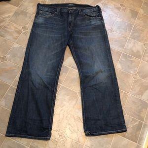 Silver Zac Jeans